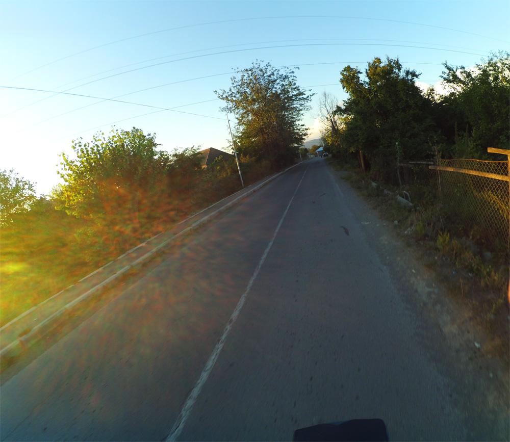 gori ye giderken gurcistan bisiklet turu